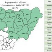 DATA REPRESENTATION OF STATE COMMISSIONERS IN NIGERIA – JANUARY 2020