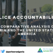 Police Accountability: A Comparative Analysis of Nigeria and the United States of America