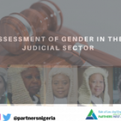 ASEESSMENT AND SUMMARY OF GENDER IN THE JUDICIAL SECTOR OF NIGERIA